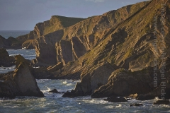 The cliffs at Hartland Quay, north Devon, Great Britain.