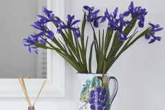 Irises decoration