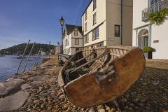 Bayards Cove, Dartmouth, Devon, Great Britain.