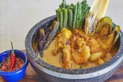 Shrimp Kare Kare, Luzon, the Philippines.
