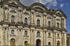 The Basilica of St Martin de Tours, Taal town, Luzon, the Philippines.