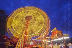 Big Wheel at Camp Bestival 2021. 31st July 2021. Lulworth, Dorset, Great Britain.