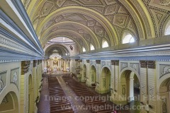 Inside the Basilica of St Martin de Tours, Taal town, Calabarzon, Luzon, Philippines.