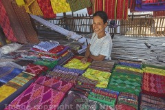 The Yakan Weaving Village, Zamboanga, Mindanao, Philippines.