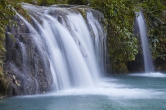 Cambugahay Falls, nr Lazi, Siquijor, Philippines.