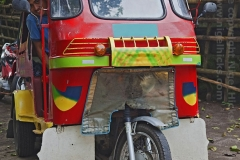 A colourful tricycle, nr Mambajao, Camiguin Island, Mindanao, Philippines.