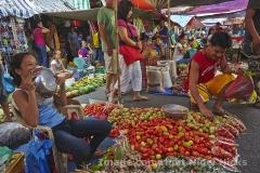 In the market, in San Fernando, La Union, Luzon, Philippines.