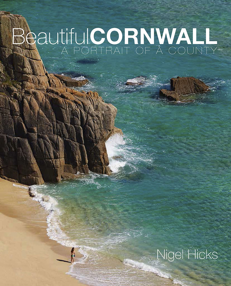 Beautiul Cornwall front cover: writing and photography for the book publishing world.