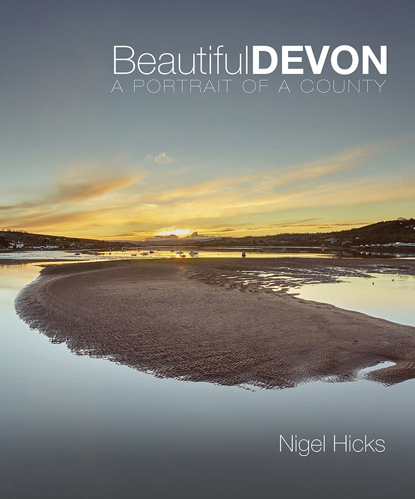 Beautiful Devon front cover: writing and photography for the book publishing world.