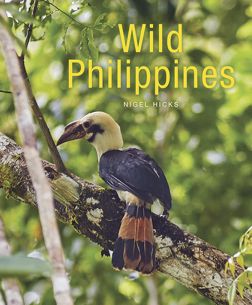 Wild Philippines front cover: writing and photography for the book publishing world.