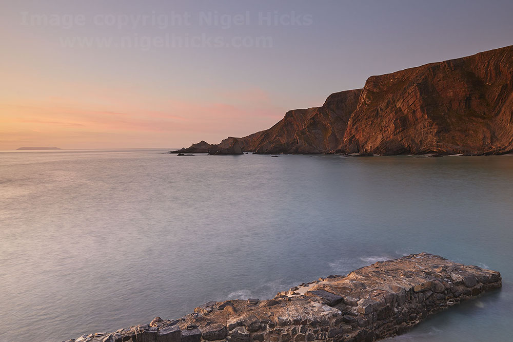 Hartland cliffs. Bespoke courses optional itineraries.