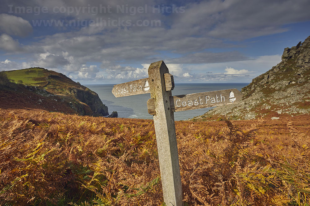 Photography course images: Exmoor in autumn photography