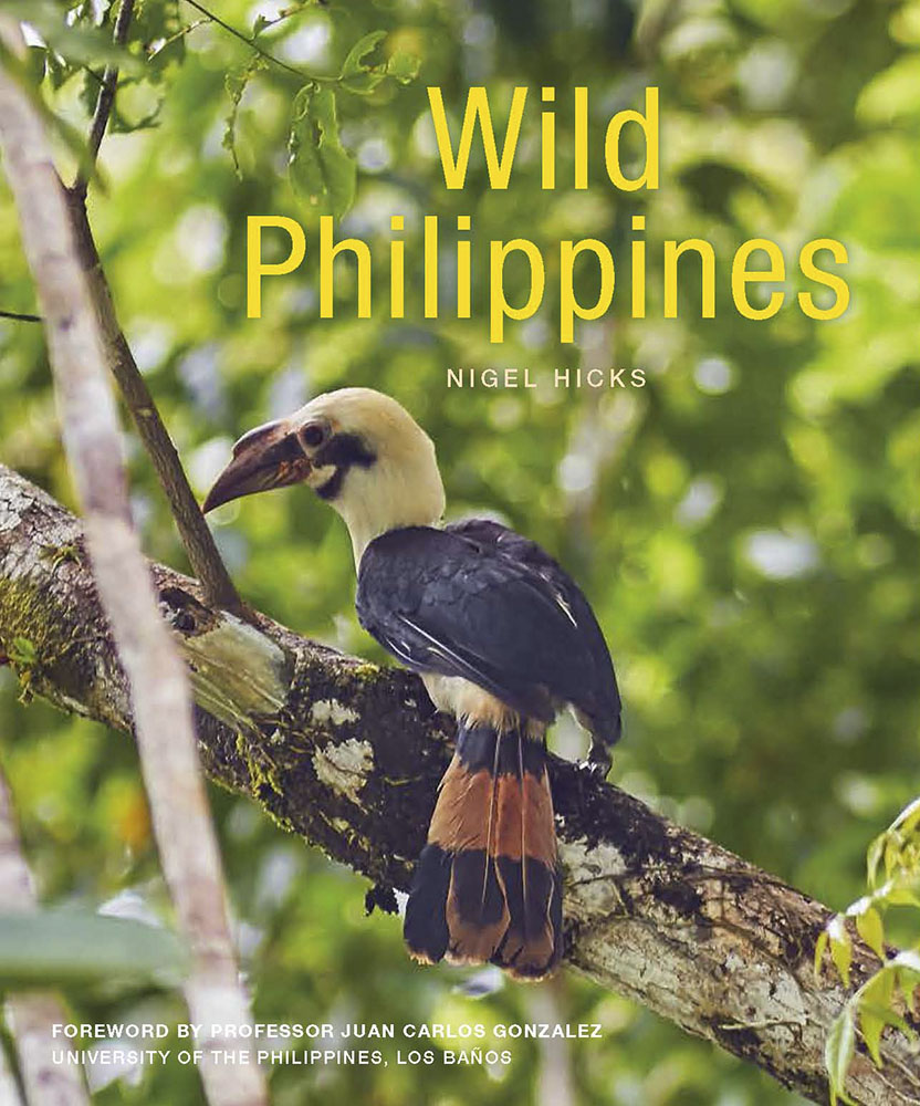 Wild Philippines cover: Nigel Hicks' photography products.