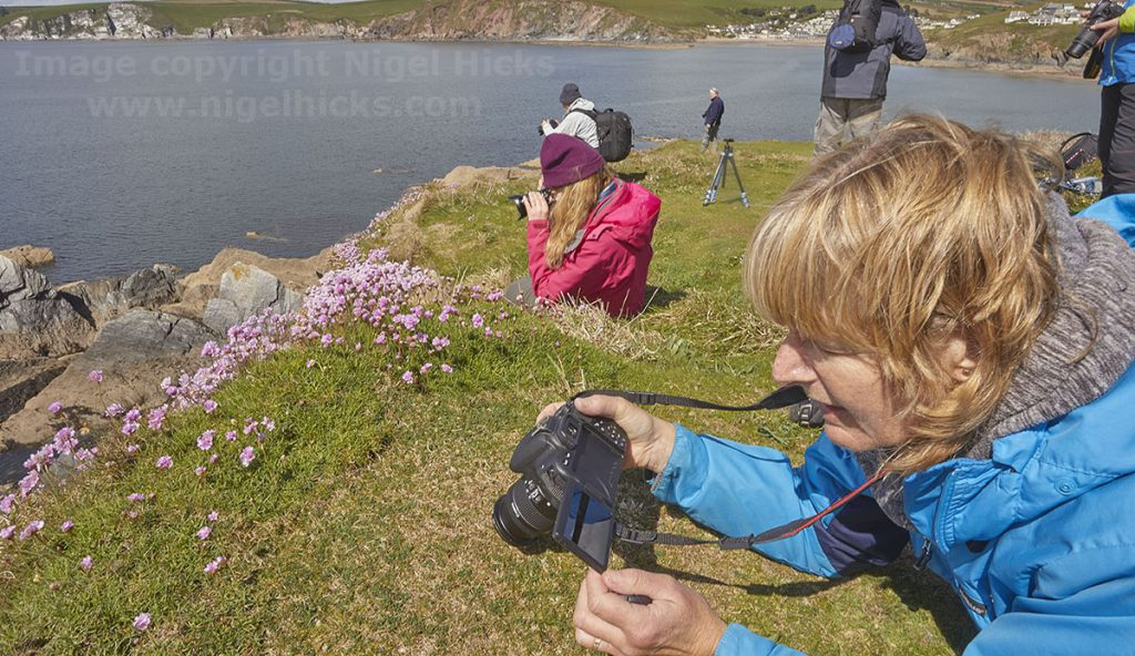 March 2021 Nigel Hicks Photography news. A photography course on Burgh Island.
