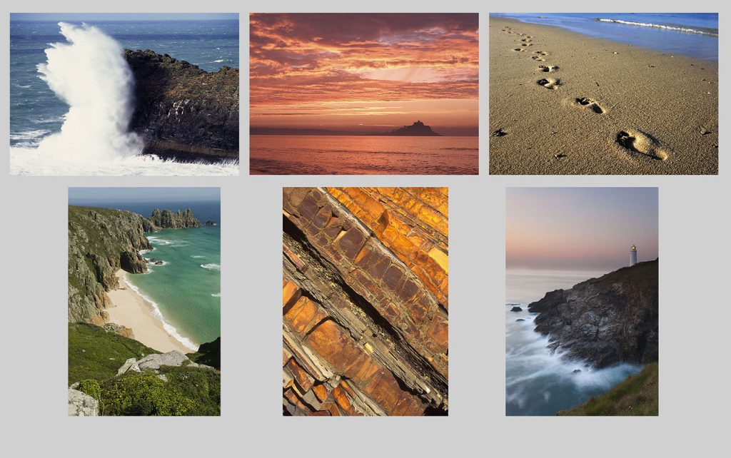Cornwall landscapes multicard pack. Buy greetings cards.