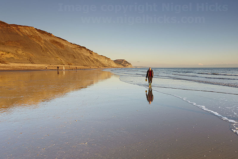 Charmouth beach, Jurassic Coast: one-day photography courses programme.