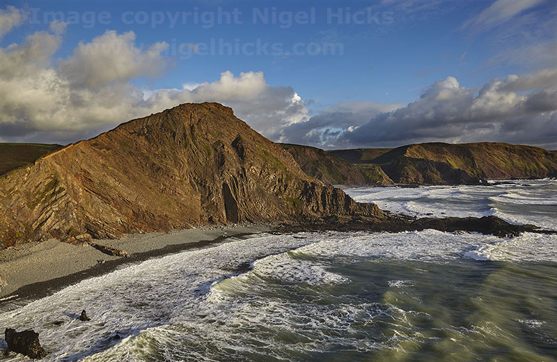 Devon's rugged Atlantic coast