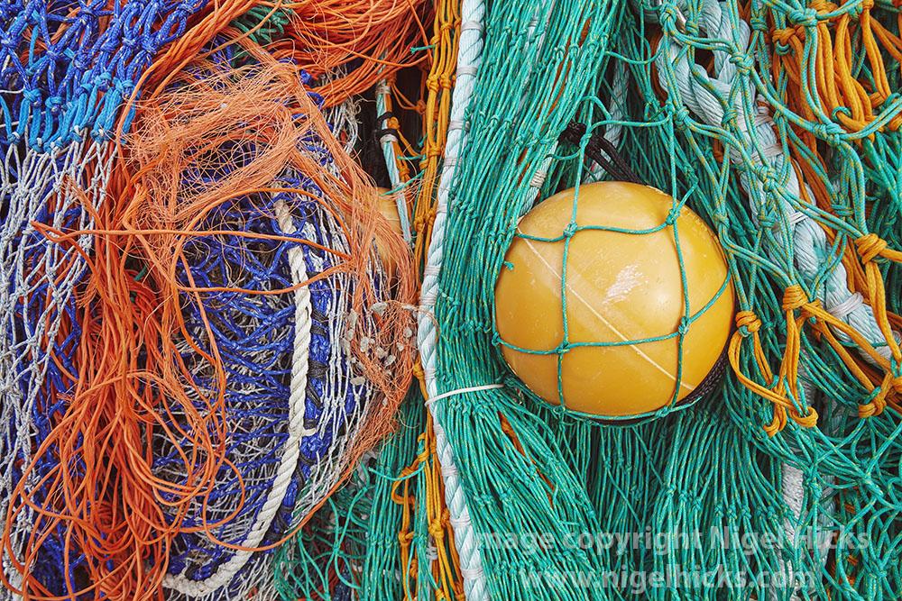Fishing gear, Lyme Regis; Jurassic Coast bespoke photography