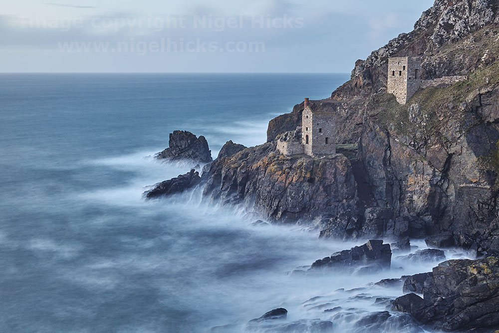 Blurred Motion Photography: Botallack tin mines